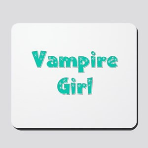 Twilight ~ Vampire Girl [GREEN] Mousepad